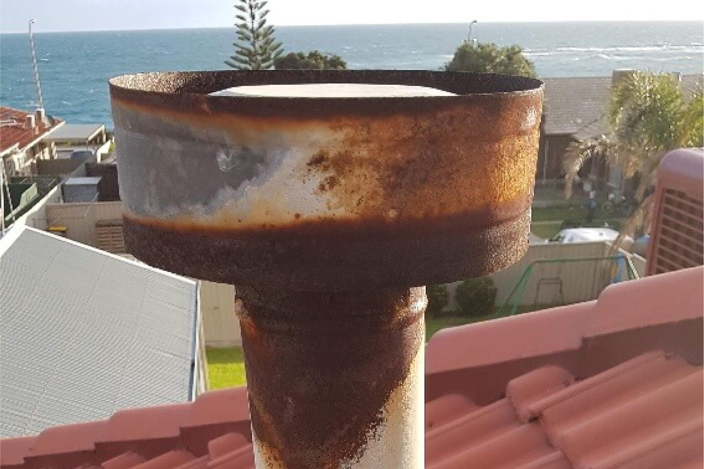 Gas Heater Flue