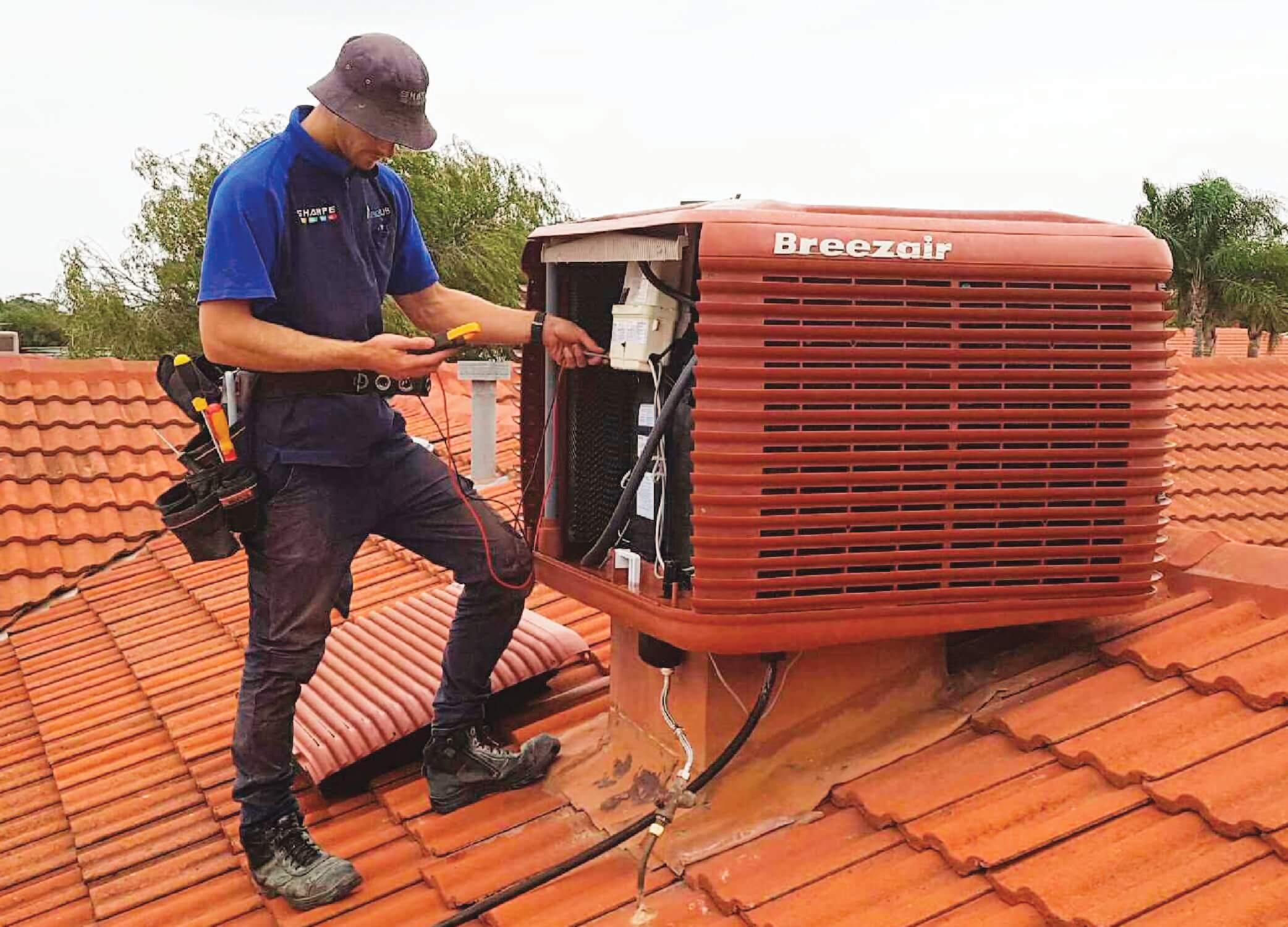 Evaporative Cooler Technician
