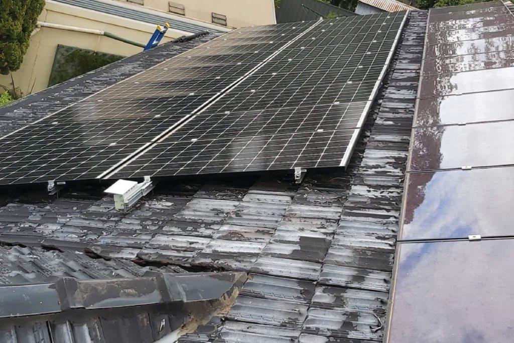 Possum knocks out solar