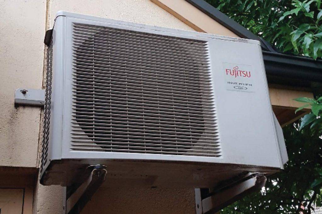 Noisy air-conditioner fixed