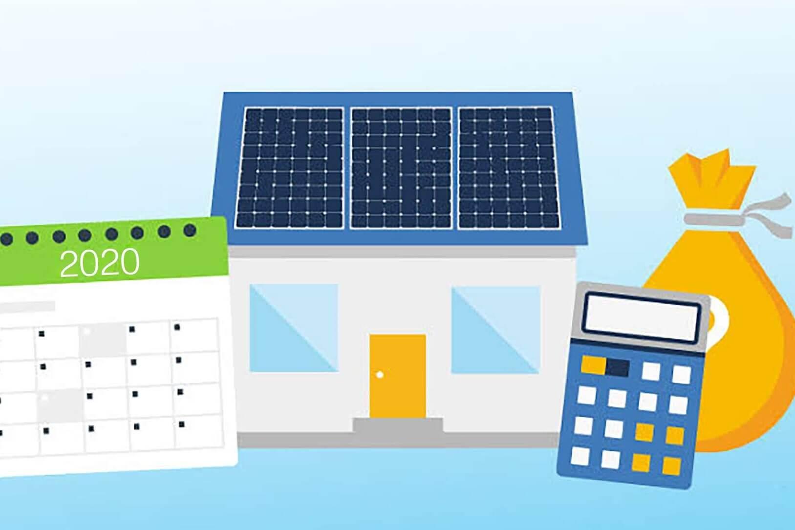 Time ticks for solar