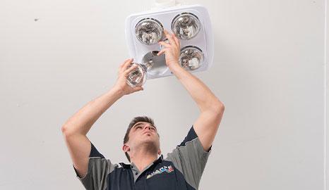 Fan Light Heater
