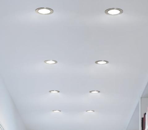LEDs Downlights Savings