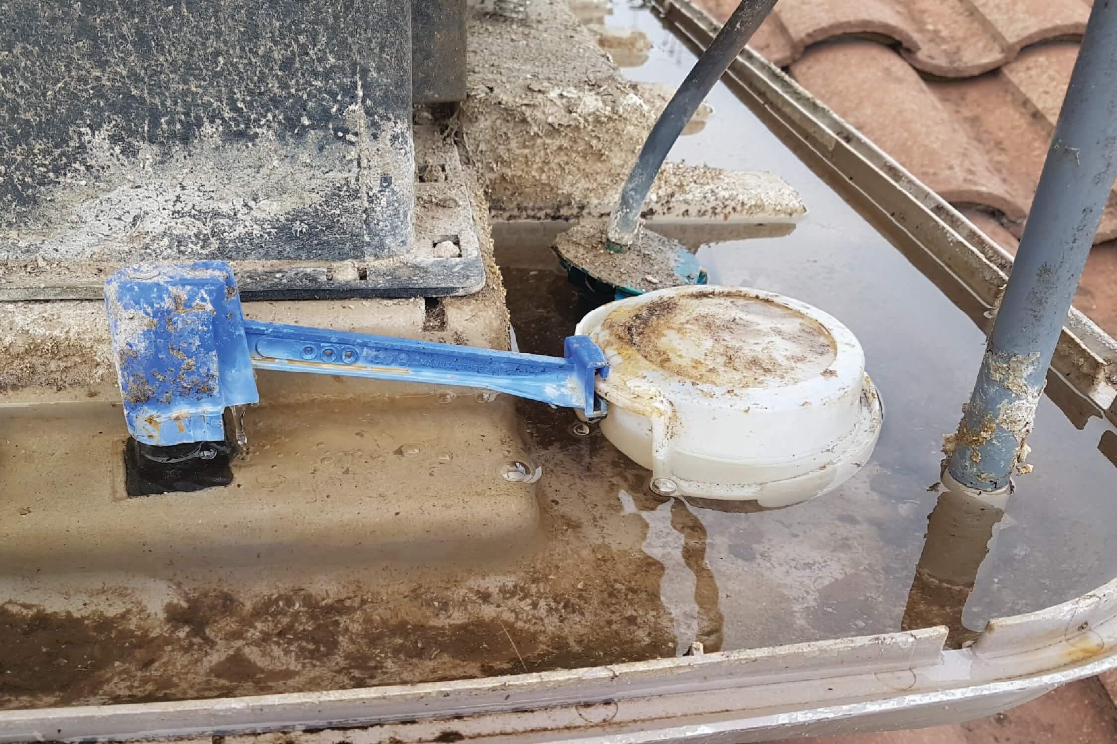 Evap water leak fixed