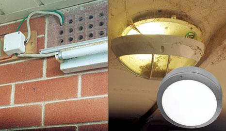 Lighting Dangers under the Eaves